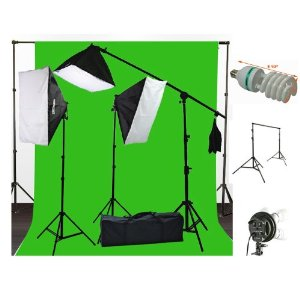 Green Screen with lighting